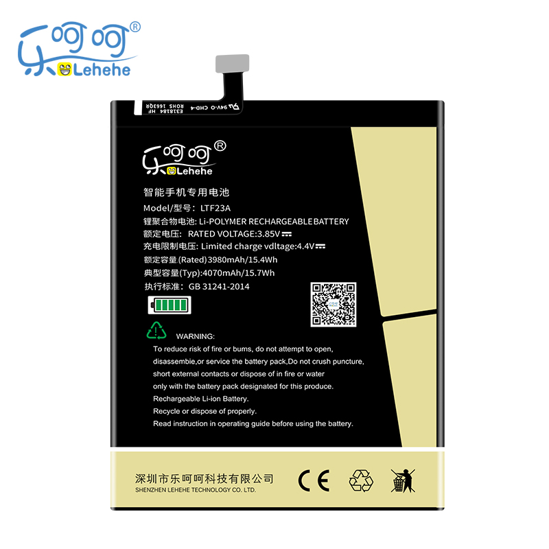 New LEHEHE LTF23A <font><b>Battery</b></font> For <font><b>LeEco</b></font> Letv Pro3 X728 X720 <font><b>X722</b></font> 4000mAh High Quality cell phone <font><b>battery</b></font> with Tools Gifts image