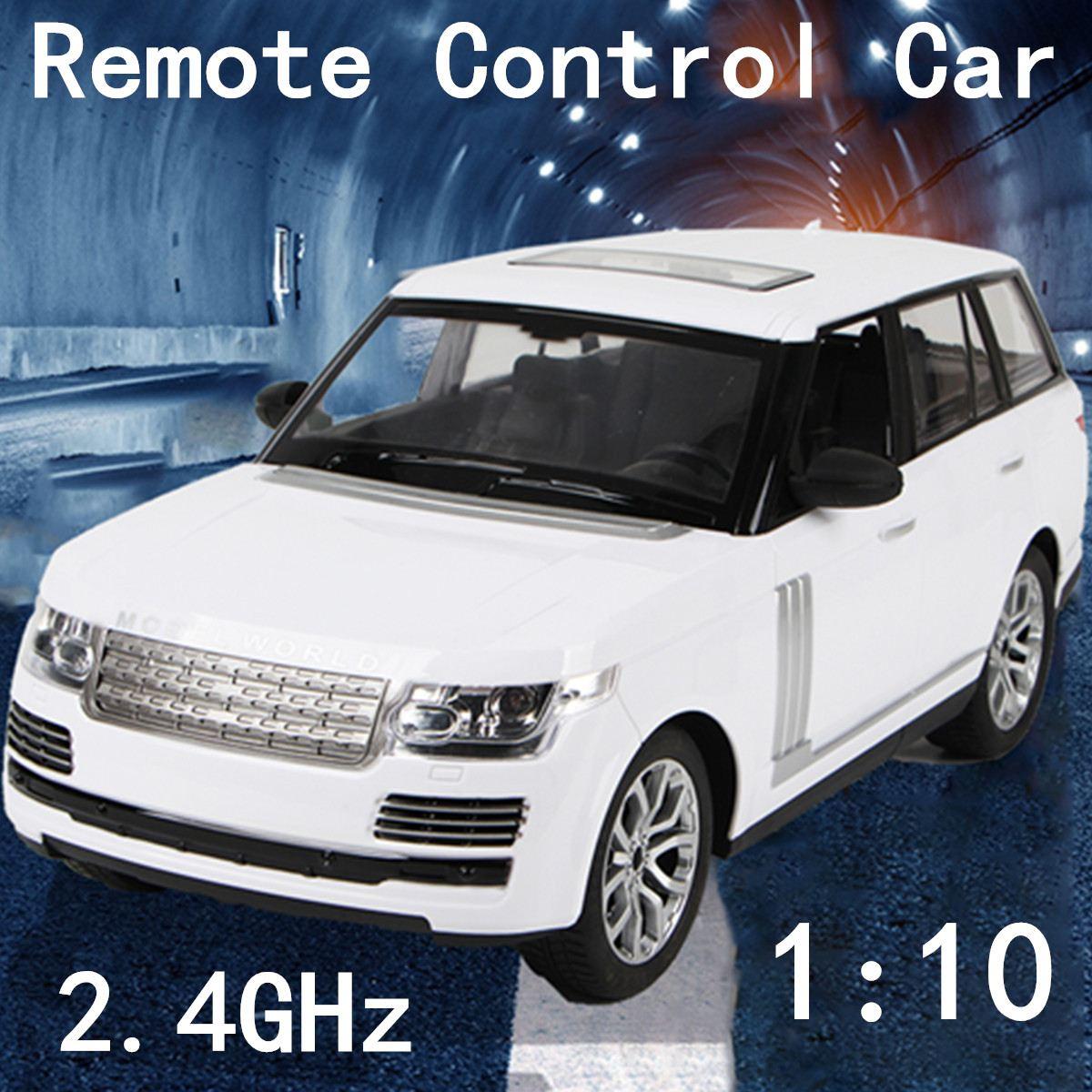 2.4 GHz télécommande voiture 1:10 échelle RC voiture jouet radiocommandé voiture modèle jouets enfants garçons cadeaux enfants SUV véhicule 40x17x15.5 cm
