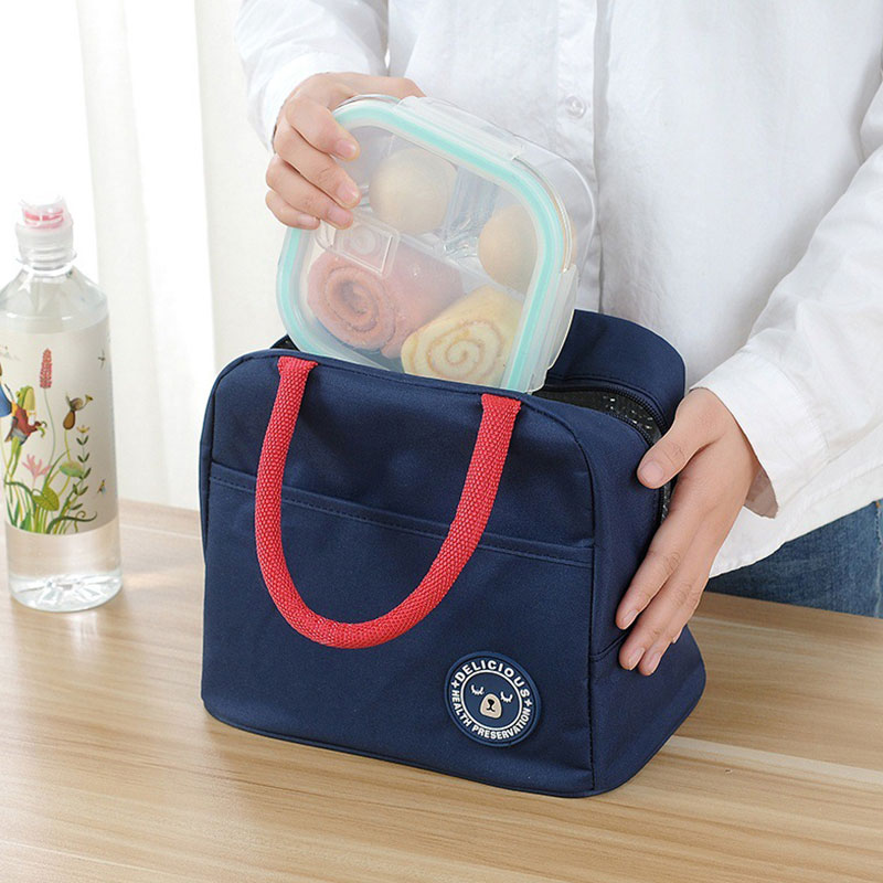 Mihawk Oxford Lunch font b Bag b font Women Kids Insulated font b Cooler b font
