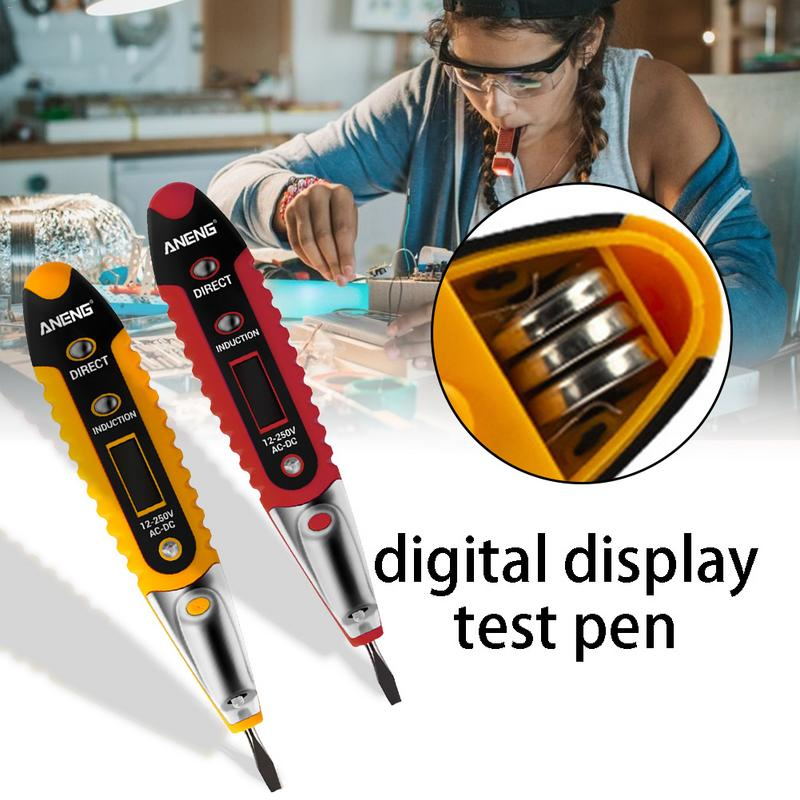 ANENG VD700 Digital Display Electrical Test Pen Multifunction Tester LCD Display Voltage Detector For Electrician