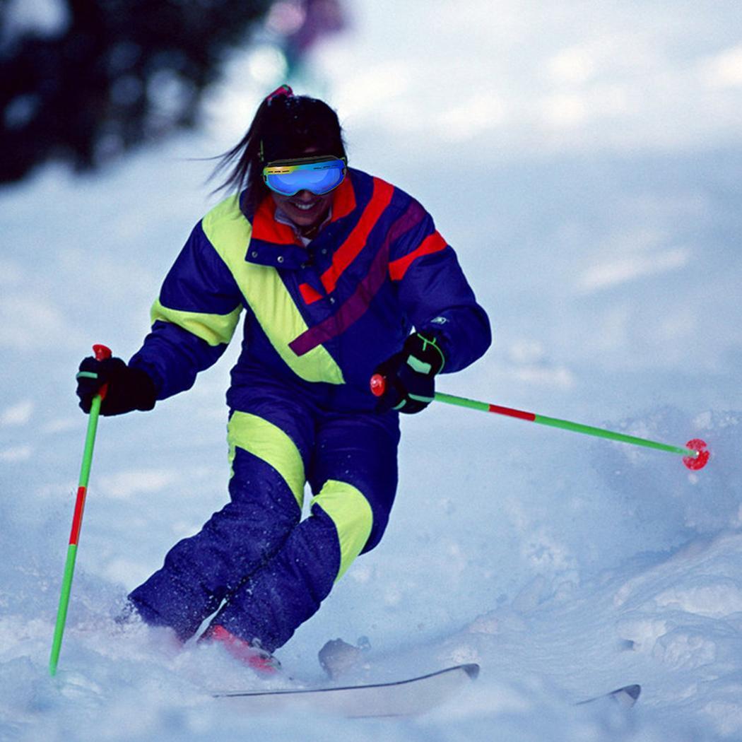 Lunettes de ski Double lentille UV400 Anti-buée adulte Snowboard lunettes de ski femmes hommes neige lunettes