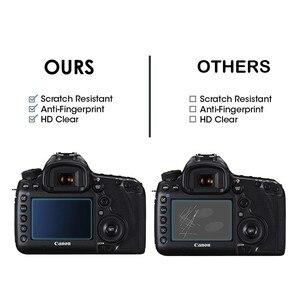 Image 5 - 2.5D 9H Vetro Temperato per Nikon COOLPIX Z7 Z6 Z50 P950 D6 D780 D7500 D7200 D7100 D850 D3500 Digitale della macchina fotografica Anti Graffi la Pellicola