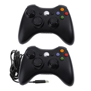 Image 1 - Dual Vibration Gamepad Game Controlle Joystick for Microsoft Xbox 360 Xbox 360 Slim for PC Windows Gamepad Joystick