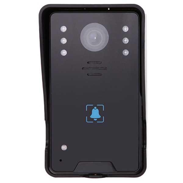 7 дюймов домашний дверной звонок Домофон разблокировать, режимом ночной съемки, g-сенсором и функцией Пресс ключ ЖК-монитор для умного дома безопасности камера COMS видео р