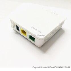 Modem ótico da relação do sc apc do porto de ont 1ge do terminal de huawei echolife hg8010h gpon com plugue de alimentação