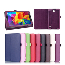 For samsung galaxy tab 4 8 0 SM-t331 PU Leather Case Cover For Samsung Galaxy Tab 4 8 0 inch T330 T331 T335 tablet Accessories cheap Peaktop Protective Shell Skin Solid Fashion Drop resistance Anti-Dust 8inch For Samsung Galaxy Tab 4 T330 T331 T335 For samsung galaxy tab 4 8 0 case
