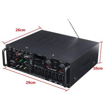 AV Amp Speaker Support 4 Microphone Reverb Equilibrium 3