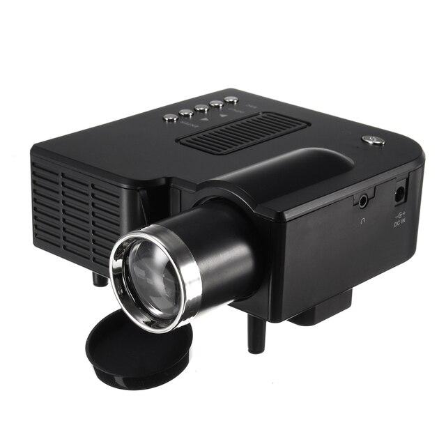 UNIC UC28+ Portable LED Projector Cinema Theater Mini Projector USB/SD/AV Input Mini Entertainment Projector 1