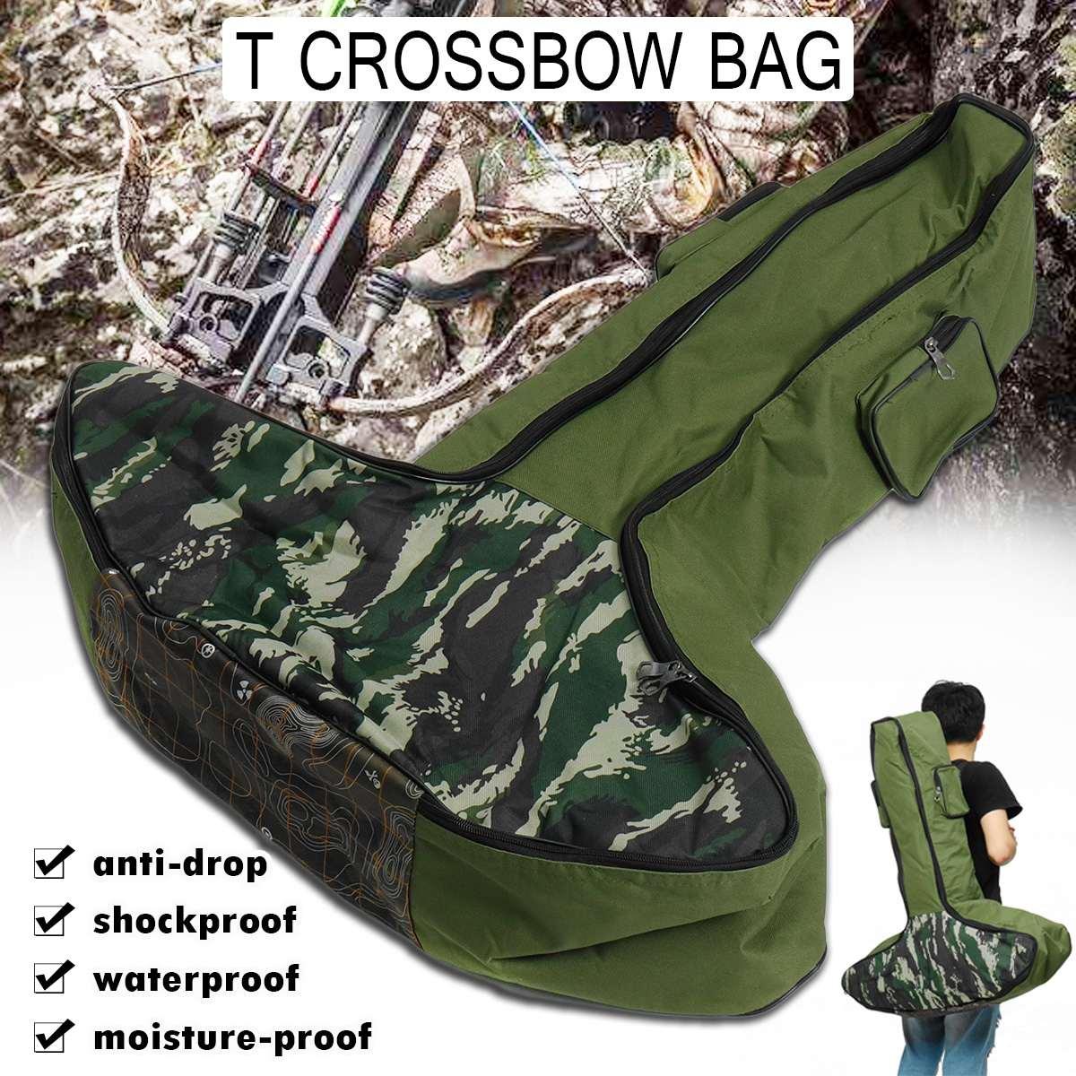 US $19.43 15% СКИДКА|Портативный держатель для сумки с Т образным поперечным бантом, удобный для переноски рюкзак с бантом на плече, протектор для стрельбы с арбалетом для охоты y|Лук и стрела| |  - AliExpress