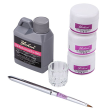 Acrylic Liquid 120ml Monomer Color Acrylic Powder Gel for Nails Acryl Manicure Material Tools Set for Nails Brush Powdered Fluid
