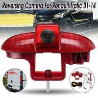 CCD HD Auto Car Rear View Camera Reverse Backup LED Brake Light Night Vision for Renault Trafic 2001 2014 Trafic Vauxhall Vivaro