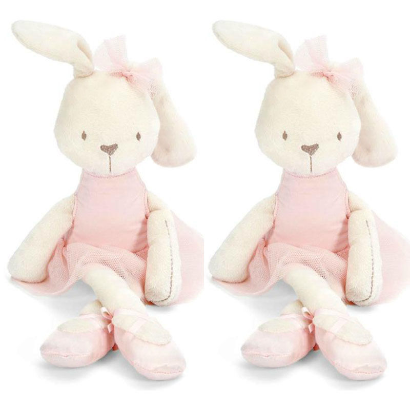 Hot Sale Cute 42cm Large Soft Stuffed Animal Bunny Rabbit Toy Baby Kid Girl Pillow Pets Accompanying Toys While Sleeping