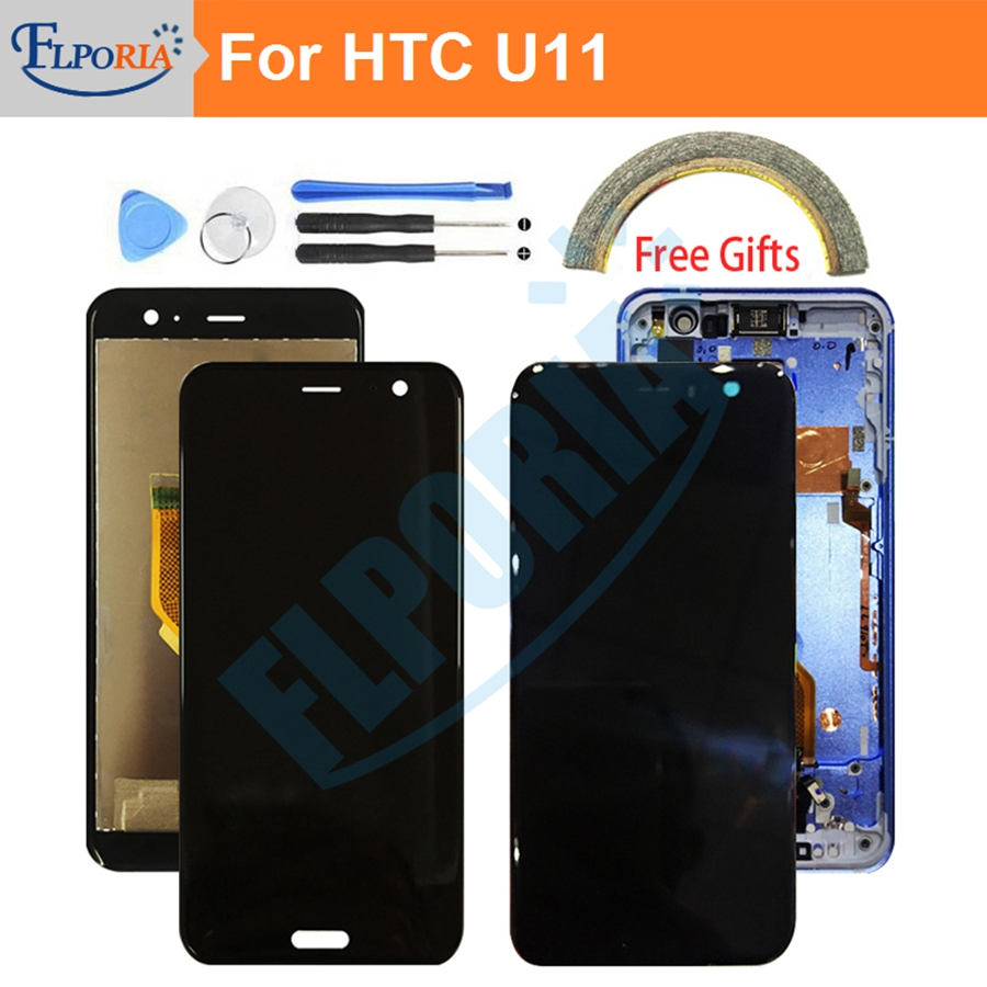 LCD Screen For HTC U11 LCD Display Touch Screen Digitizer Assembly Replacement Parts Touch Panel For HTC U-3w U-1w U11 5.5LCD Screen For HTC U11 LCD Display Touch Screen Digitizer Assembly Replacement Parts Touch Panel For HTC U-3w U-1w U11 5.5