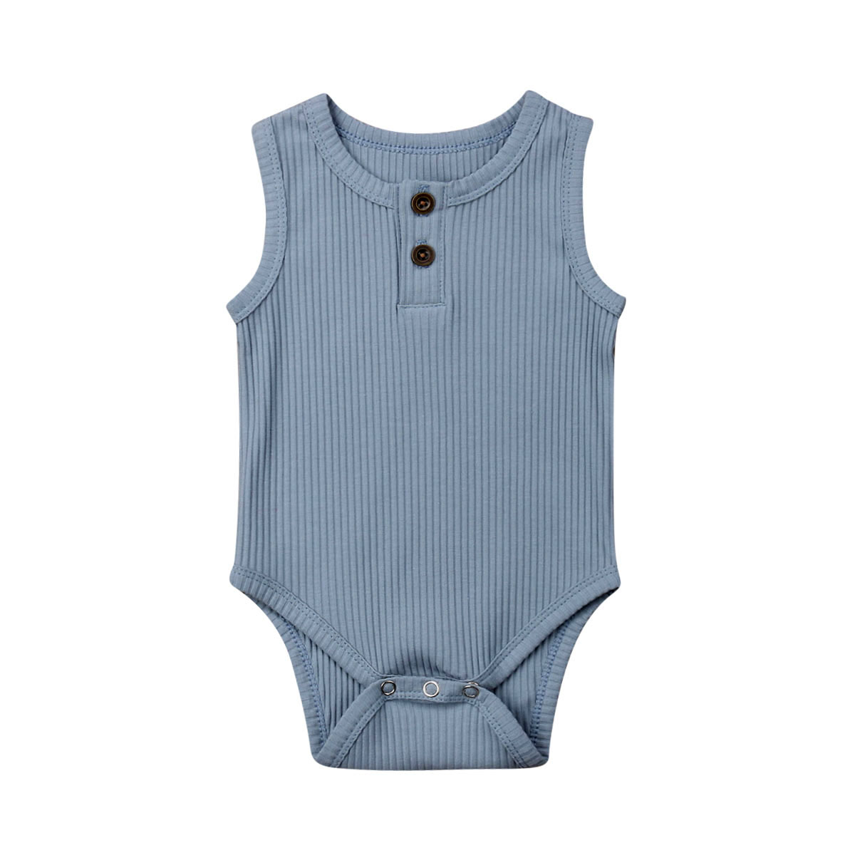 Cute Newborn Baby Boy Girl Cotton Romper Jumpsuit Solid Sleeveless Outfit Casual Clothes Cute Newborn Baby Boy Girl Cotton Romper Jumpsuit Solid Sleeveless Outfit Casual Clothes