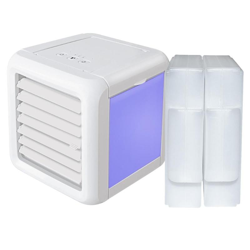 USB Mini Air Conditioner Humidifier Purifier 7 Colors Light Desktop Air Cooling Fan Air Cooler Fan for Office HomeUSB Mini Air Conditioner Humidifier Purifier 7 Colors Light Desktop Air Cooling Fan Air Cooler Fan for Office Home