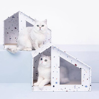 Xiaomi Youpin Practical Cat House Style Scratch Board Bearing Up To 10kg Cat Scratchers Safe And Healthy For Cat