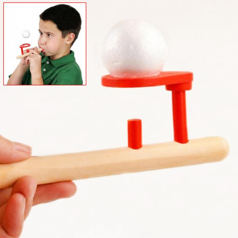 Image 4 - 2018 Creative Wooden Toy Nostalgic Gadgets Fun Woodworking Balancing Blowing Toys Adult Children Playing Toy-in Puzzles from Toys & Hobbies