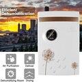 2.5l casa de água alarme completo desumidificador elétrico secador ar exibição tela umidade absorvente secador ar refrigeração 220 v 100 w