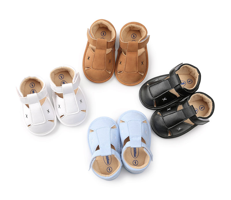 Summer Baby Moccasins Newborn Infant First Walkers Crib Shoes Hard Soled Fashion Toddler Pre Walkers Shoes Boys Girls Kids