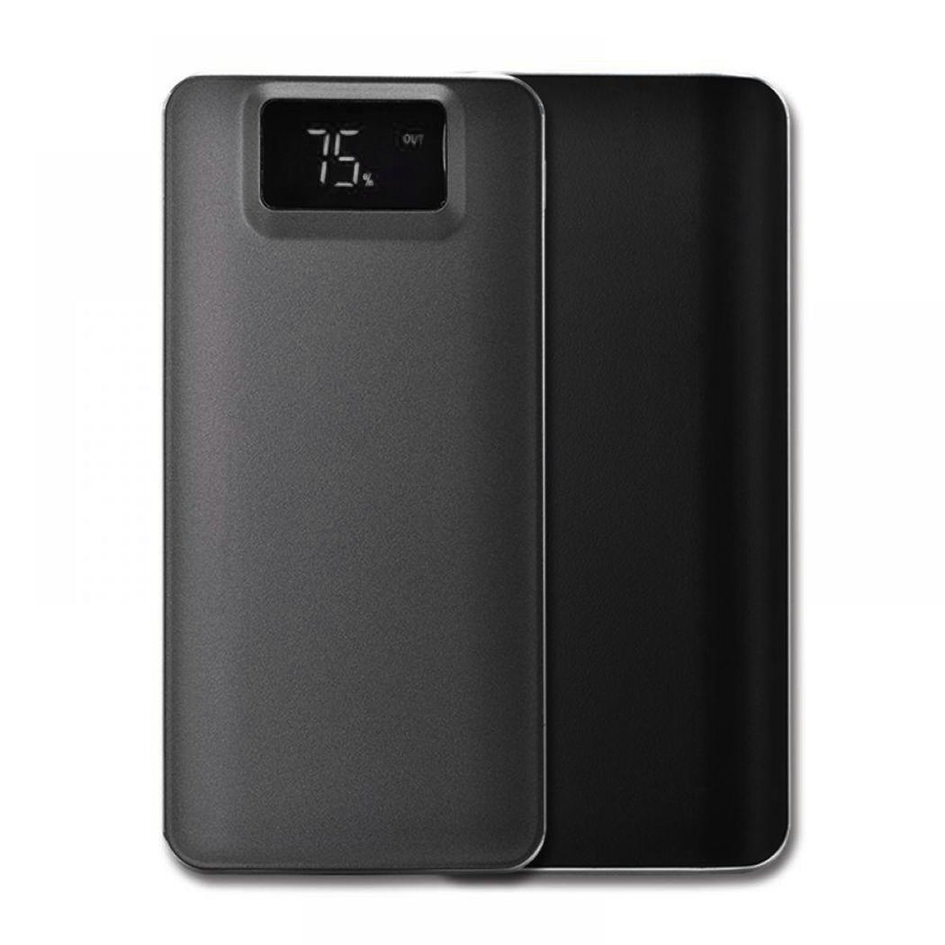 Lithium Dual 1A Portable Bank Digital USB Power LCD 5V1A 2 2 Mini With Mobile Light Battery Display Power 1A Polymer