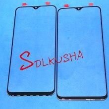 10 sztuk przedni zewnętrzny do szkła ekranu i soczewek wymiana ekranu dotykowego do Samsung Galaxy A20 A205 A205F A205G A205DS A205FN A205GN