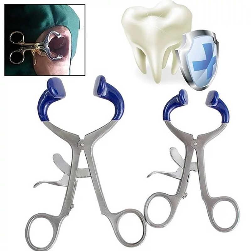 2019 高品質のプロフェッショナル手術器具歯科矯正 CE 歯科口リトラクター脱皮口ステンレススチールブルー