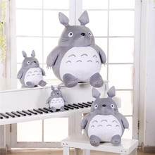 Hot Totoro Soft Stuffed Animal Cushion My Neighbor Totoro Plush Doll Toy Pillow  For Kid Baby Birthday Christmas Gift 6/8/20cm стоимость