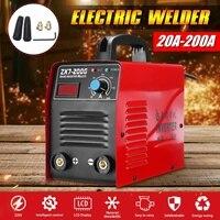 220V 25KVA ZX7 200 Electric IGBT Welder Inverter MMA/ARC Welding Soldering Machine 20 200A