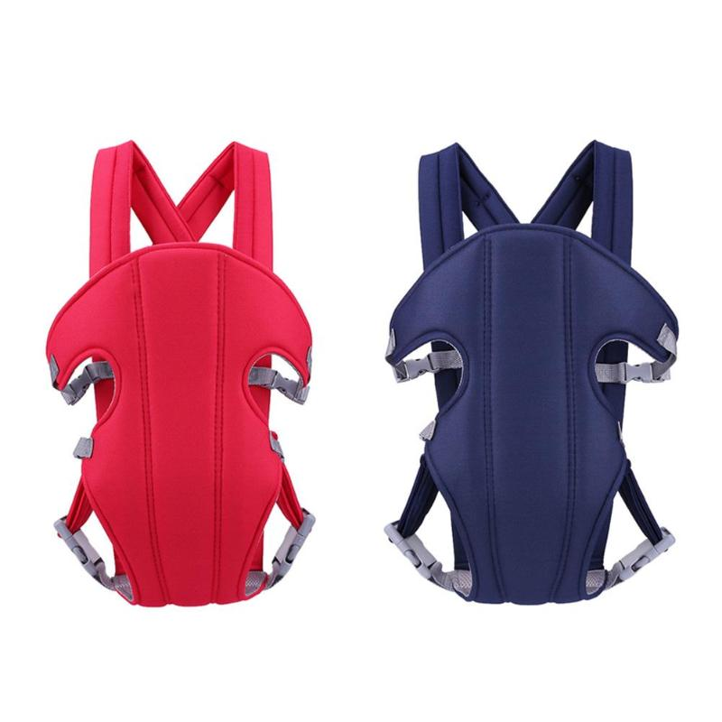 2-36 Months Baby Four Position Lap Strap Soft Sling Carriers Backpack Wrap