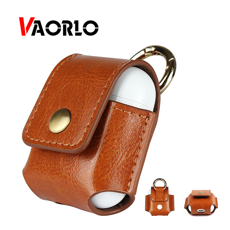 For iPhone <font><b>Airpods</b></font> Case Leather Earpods Protective Cover Accessorie For Apple Bluetooth Earphone <font><b>TWS</b></font> i10 I20 <font><b>I30</b></font> I60 I80 Earbuds image