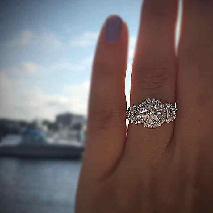 Супер мясо круглые белые циркониевые Кольца Мода для Для женщин для невесты, для свадьбы, помолвки кольцо Танцевальная Вечеринка кольцо