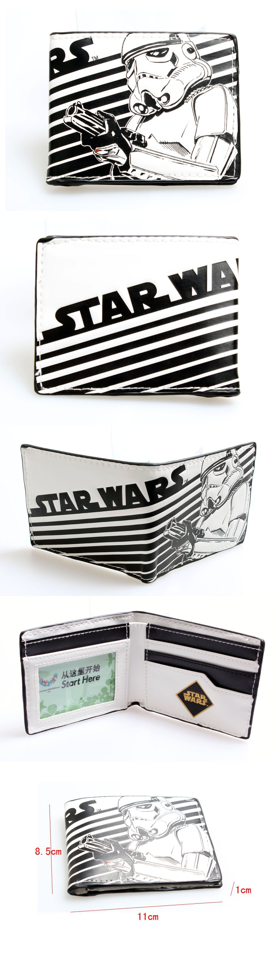 Star Wars Wallet Stormtrooper