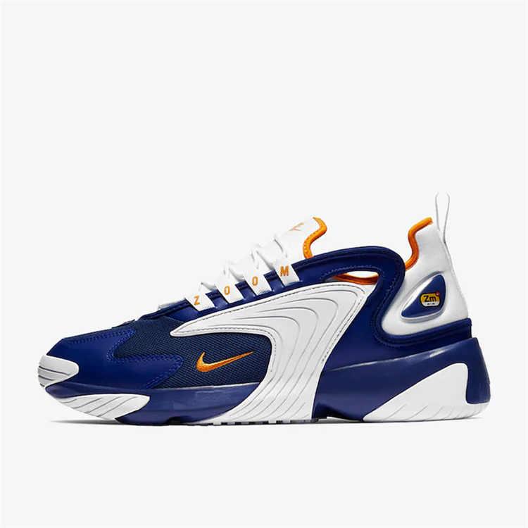 Nike Zoom 2 K WMNS оригинальные мужские кроссовки новый узор восстановление обувь движения удобные спортивные кроссовки # AO0269
