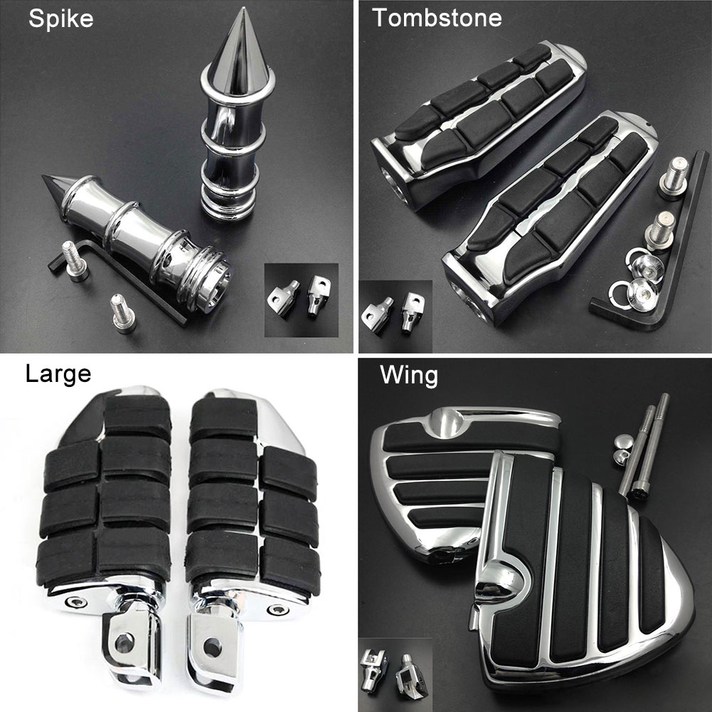 Large Front Foot Peg For 01 15 Honda Goldwing GL 1800 and F6B for Suzuki GSX
