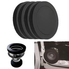 Автомобильное универсальное изоляционное кольцо для динамика, звукоизоляционное хлопковое кольцо, поролоновая прокладка, шумоизоляционн...