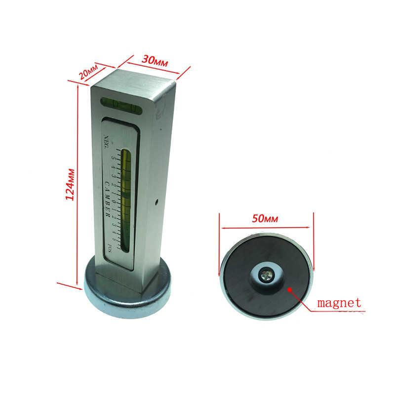 車 4 ホイールアライメント磁気レベルゲージレベルゲージキャンバー調整援助ツールマグネット位置決めツール