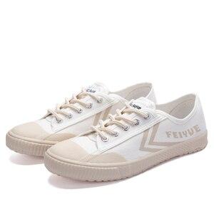 Image 3 - Dafufeiyue Canvas Schoenen Vintage Gevulkaniseerd Mannen En Vrouwen Mode Nieuwe Sneakers Comfortabele Antislip Duurzaam Schoenen 794