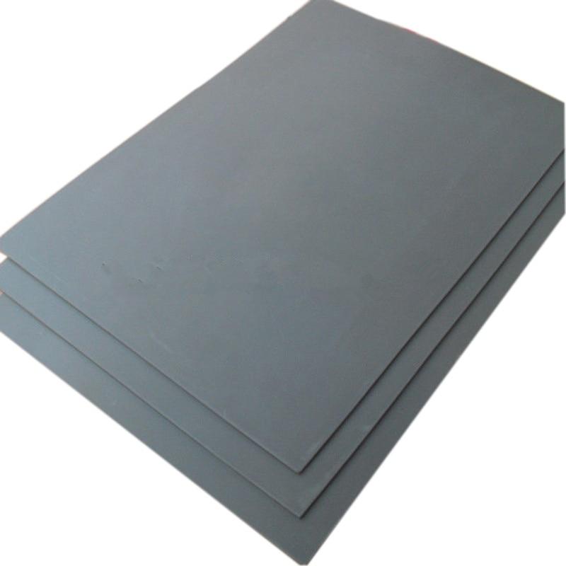 1Pc Engraving Sealer Stamp Laser Rubber Sheet Gray Laser Rubber Sheet Printing Engraving Sealer Stamp A4 Size 2.3mm
