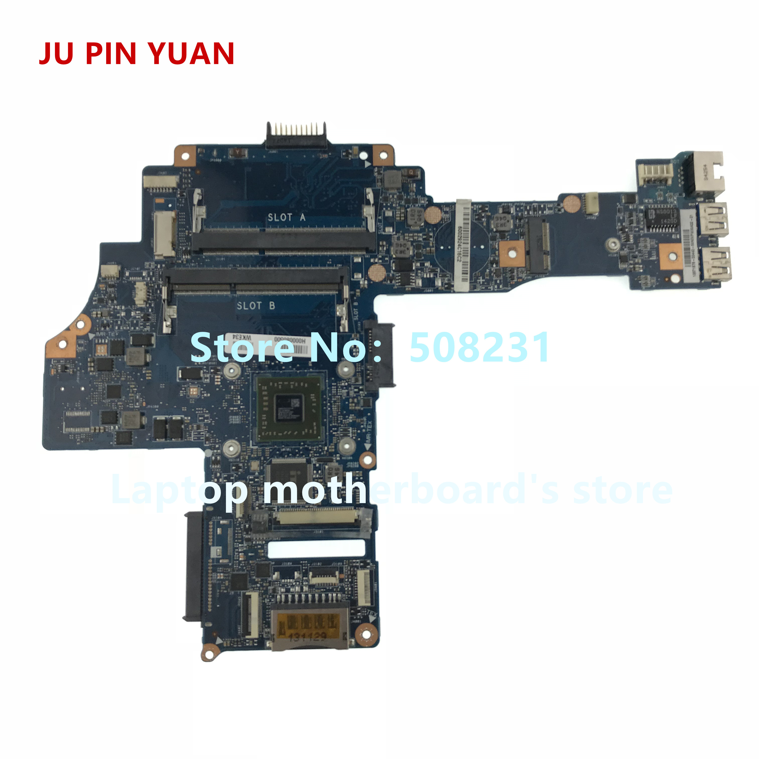 JU PIN YUAN H000080500 for Toshiba Satellite L40D-B L45D-B laptop motherboard CA10AN/AB with A8-6410 fully TestedJU PIN YUAN H000080500 for Toshiba Satellite L40D-B L45D-B laptop motherboard CA10AN/AB with A8-6410 fully Tested