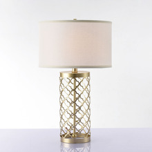 Nordic LED Deak Lamps Gold Metal Table Lamp Bedroom Bedside Decorative Light Desk Lights Wedding Room Fixtures