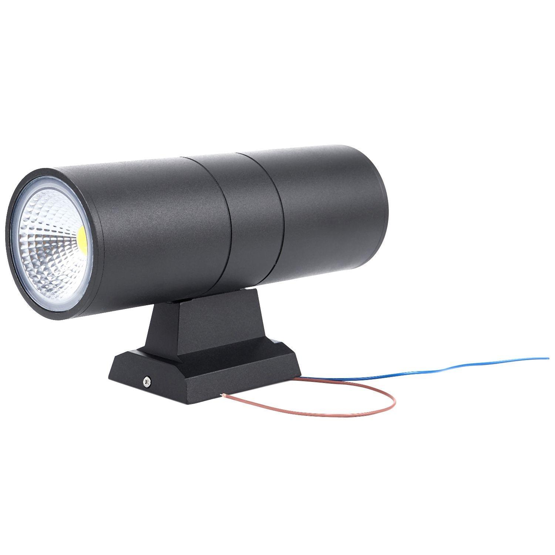 20w Led Wall Light: LED Wall Lamp Cylinder COB 20W LED Wall Light IP65