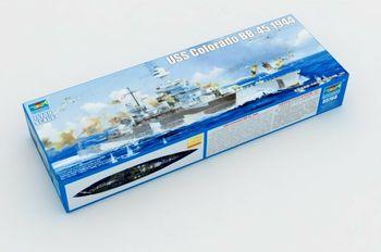 Trumpeter 05768 1/700 Warship USS Colorado BB-45 1944 Battleship Model Boat