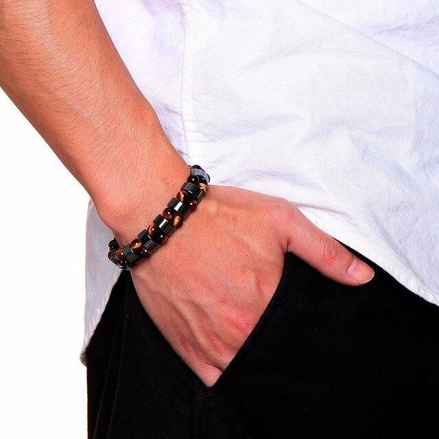 Bracelets Minceur Magnétique En Hématite