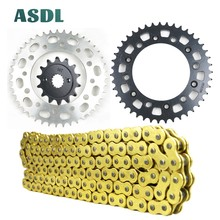 520 14T 43T Motorcycle Best Quality Transmission Drive Chain and front rear sprocket set for HONDA CR125 RD RE RF CR 125 83 - 85 cvgaudio m 43t