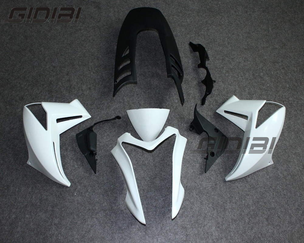 Unpainted Motorcycle Fairings For KAWASAKI ER 6N 2009 2010 2011 + Gift