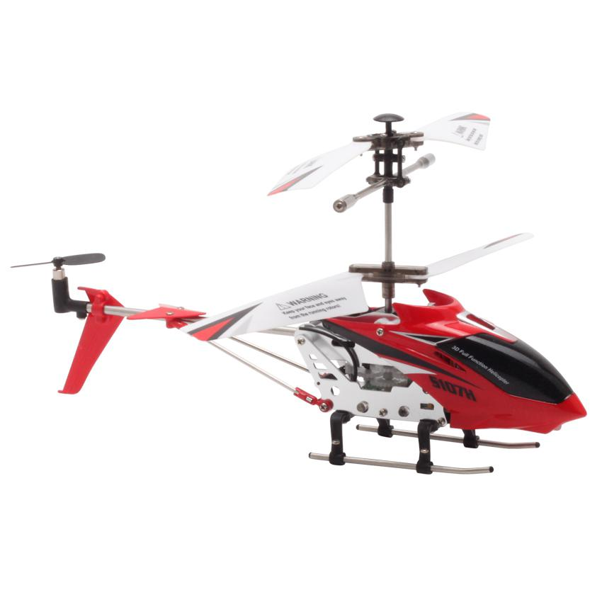 Image 5 - S107H Gyro Metal 2.4G Radio 3.5H Mini Helicopter RC Remote Control Altitude Hold RC Drone Toys Children Birthday Gift-in RC Helicopters from Toys & Hobbies