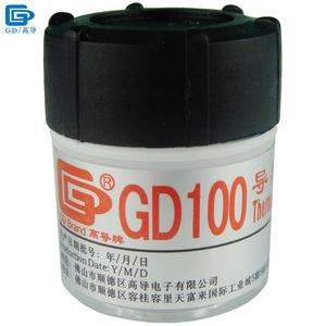 GD Brand Heat Sink Plaster Compound GD100 Thermal Conductive Grease Paste Silicone Net Weight 20 Grams White For LED CPU CN20