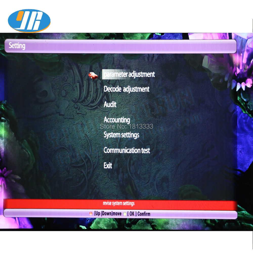 2019 yeni İngilizce balıkçılık oyun tahtası 2 Oyuncu Balıkçılık oyun DIY arcade kiti okyanus kral Oyunları İngilizce oyun tahtası LED joystick