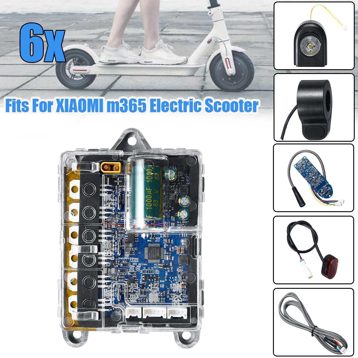 Pour XIAOMI M365 carte mère Scooter tableau de bord contrôleur pour Ninebot Scooter électrique accessoires planche à roulettes partie