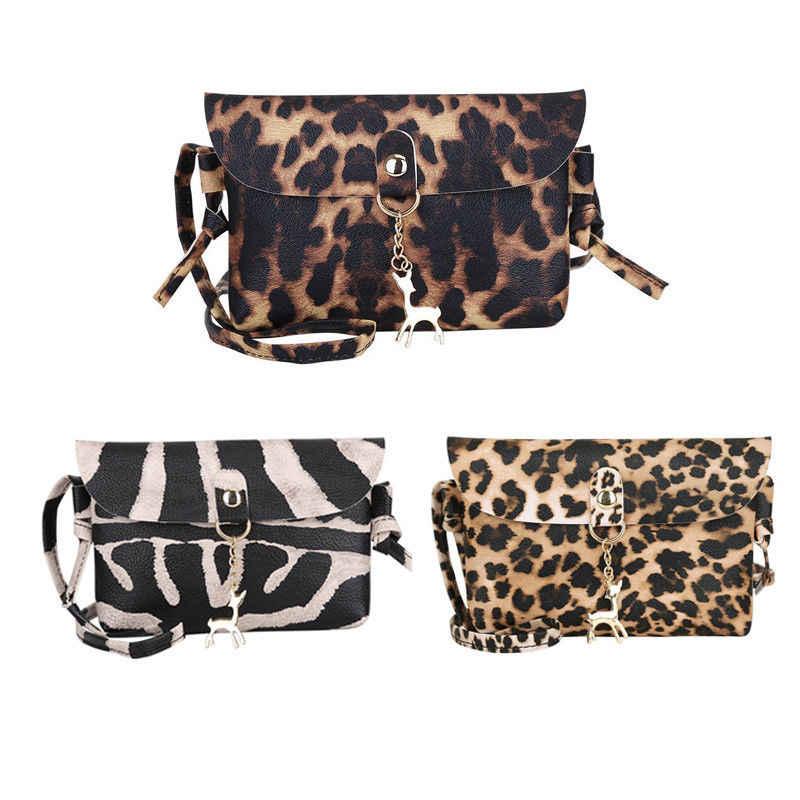 2019 New Style Fashion Hot Fashion Women Lady PU Leather Deer Pendant Mini  Flap Crossbody Messenger b204f5e2eeacd